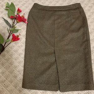 Club Monaco gold sparkle mini skirt